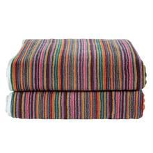 Argos Home Skinny Striped 2 Piece Towel Bale