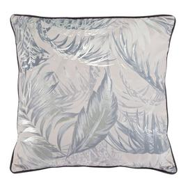 Argos Home Palm Luxe Foiled Palm Print Cushion