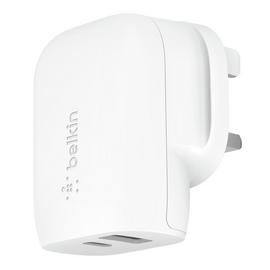 Belkin 32W USB-C Dual Wall Charger - White