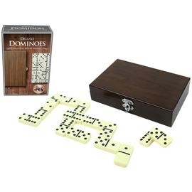 Craftsman Wood Veneer Deluxe Dominoes