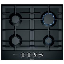 Bosch PCP6A6B90 Cast Iron Support Gas Hob - Black Best Price, Cheapest Prices