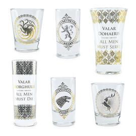 Game of Thrones 6 Shot Glasses