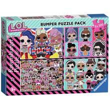 LOL Surprise 4 x 100pc Puzzles