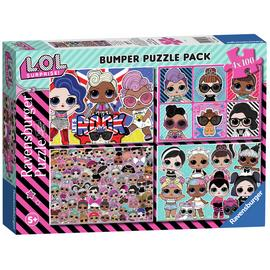 LOL Surprise 4 x 100pc Puzzles