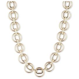 Anne Klein Gold Collar and Octagon Chain