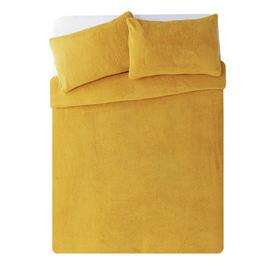 Argos Home Fleece Bedding Set