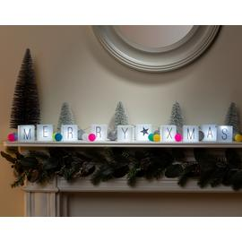 Argos Home Personalised Light Box String Lights