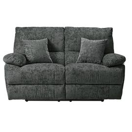 Argos Home Carmilla 2 Seater Fabric Recliner Sofa - Charcoal