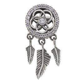 Moon & Back Sterling Silver Dream Catcher Charm