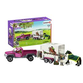Schleich Horse Club Pick up Horse Box - 42346