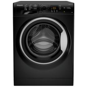 Hotpoint NSWM863CBS 8KG 1600 Spin Washing Machine - Black