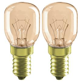 Argos Home 15W SES Oven Light Bulb - 2 Pack