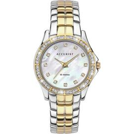 Accurist Ladies Two Tone Stainless Steel