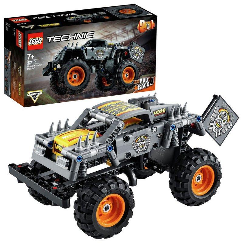 LEGO Technic Monster Jam Max-D Truck 2 in 1 Set 42119 from Argos