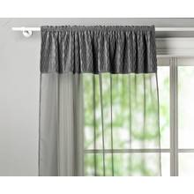 Argos Home Crushed Velvet Pencil Pleat Voile Curtain Panel
