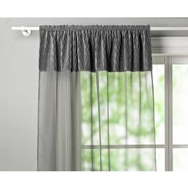 Argos Home Crushed Velvet Voile Curtain Panel