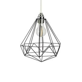 Argos Home Kanso Wire Pendant Shade - Black