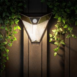 Smartwares Solar LED Wall Light with Motion Sensor
