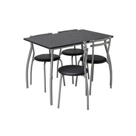 Argos Home Leon Dining Table & 4 Chairs