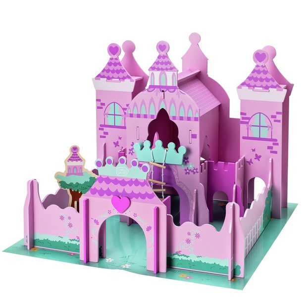 Buy Chad Valley Magical Wooden Castle Playsets And Figures Argos