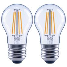 Argos Home 4W LED ES Globe Light Bulb - 2 Pack