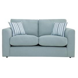Argos Home Cora 2 Seater Fabric Sofa - Duck Egg