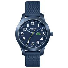 Lacoste Unisex Childrens Blue Silicone Strap Watch