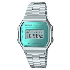 Casio Unisex Silver Stainless Steel Bracelet Watch