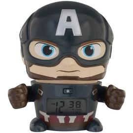Bulbbotz Marvel Captain America Alarm Clock