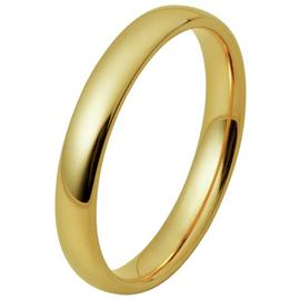 Inara Gold Plated 3mm Stacking Ring