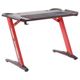 X Rocker Jaguar Gaming Desk - Red