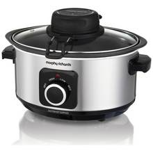 Morphy Richards 3.5L Auto-Stir Slow Cooker - Stainless Steel