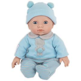 Chad Valley Tiny Treasures My First Baby with Blue Outfit