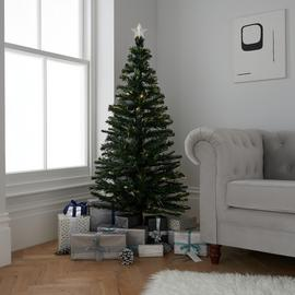 Argos Home 5ft Fibre Optic Christmas Tree - Warm White