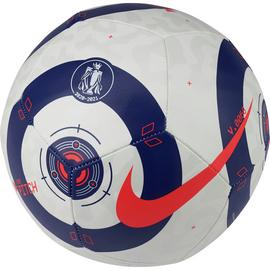 Nike Premier League Size 5 Football - White and Blue