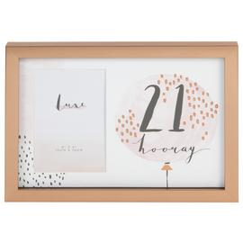 Hotchpotch Luxe 21st Birthday Photo Frame - Rose Gold