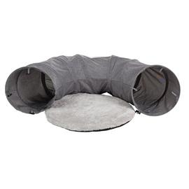 2-in-1 Cat Tunnel with Cushion