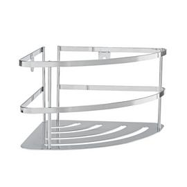Argos Home Chrome Wall Mountable Corner Shelf