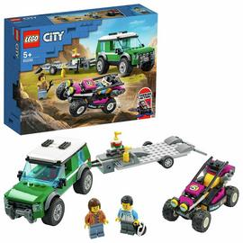 LEGO City Great Vehicles Race Buggy Transporter Toy 60288