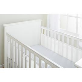 BreathableBaby 2 Sided Cot Liner – White