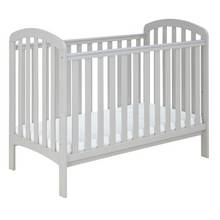 Cuggl Austin Cot with Changer Top - Soft Grey