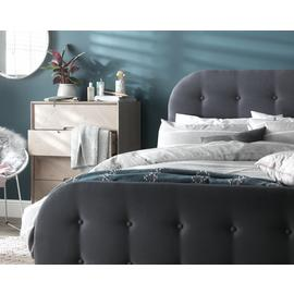 Argos Home Ashby Ottoman Small Double Bed Frame - Grey