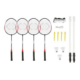 Hy-Pro 4 Person Badminton Set