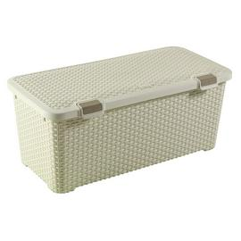 Curver Rattan Style 72 Litre Large Storage Trunk