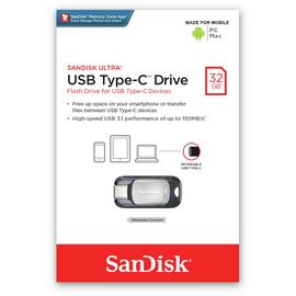 SanDisk Ultra Dual Flash Drive USB 3.0 Type-C - 32GB