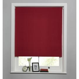 Argos Home Blackout Roller Blind - Berry