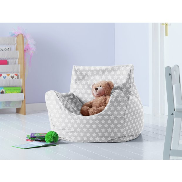 Buy Argos Home Kids Funzee Silver Stars Bean Bag | Bean bags | Argos