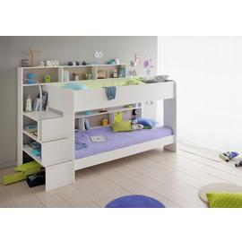 Parisot Bibop Bunk Bed with Step Storage - White