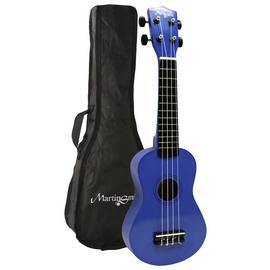 Martin Smith Soprano Size Ukulele - Blue