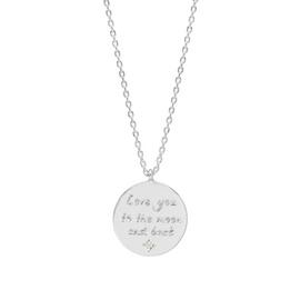 Amelia Grace Love You to the Moon and Back Necklace